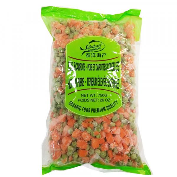 ST frozen 3-way mixed vegetables / 混合蔬菜 - 750g