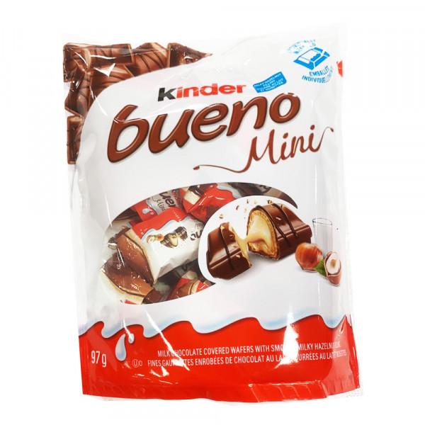 Kinder bueno mini  /  牛奶巧克力饼干 - 97g