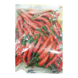 Frozen whole red chilli / 冷冻指天椒 - 227g
