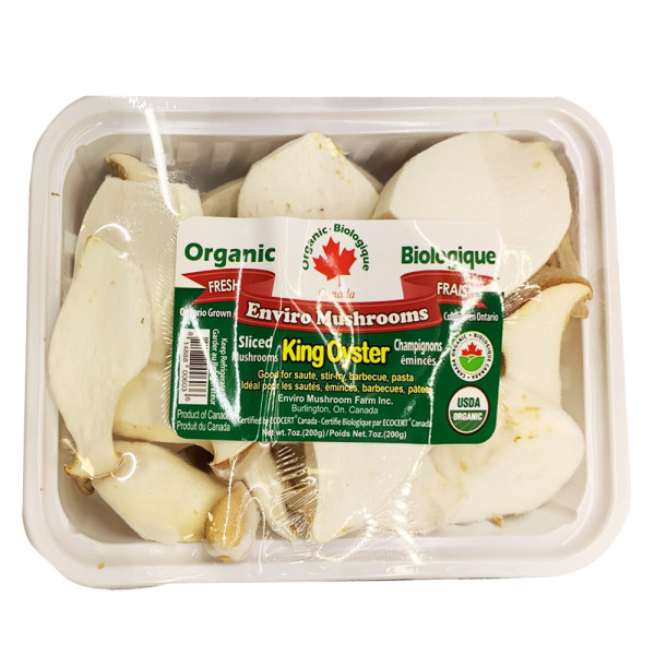 Organic sliced enviro mushrooms / 有机切片蘑菇 - 200g