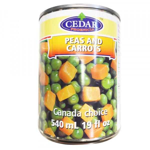 Cedar Peas and Carrots / 杂蔬罐头 - 540ml