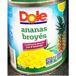 Dole Crushed Pineapple / 菠萝丁罐头 - 398ml