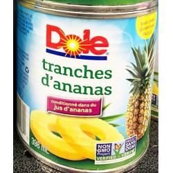 Dole Pineapple Slices / 菠萝片罐头 - 398ml