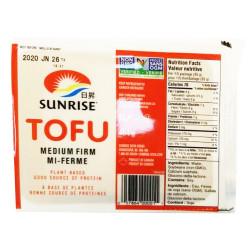 Sunrise TOFU - Miedium Firm / 日升豆腐 - 中硬 - 454 g