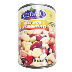 Cedar Mix 6 Legumes / 杂豆罐头 - 540m