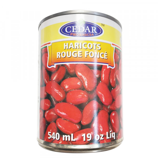 Cedar Red beans / 红豆罐头 - 540ml