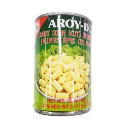 Aroy-D Baby Corn (Cut) / 玉米笋罐头 -425g
