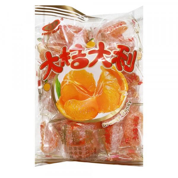 Orange Candy / 大吉大利香橙软糖 - 500g