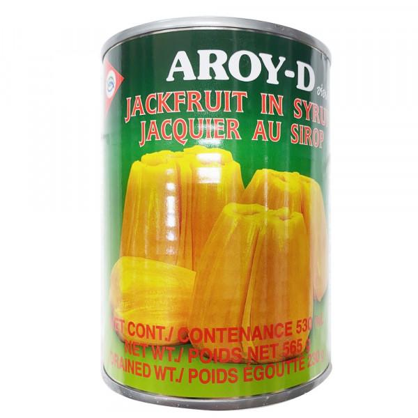 Aroy-D JackFruit in Syrup / 菠萝蜜罐头 -565g
