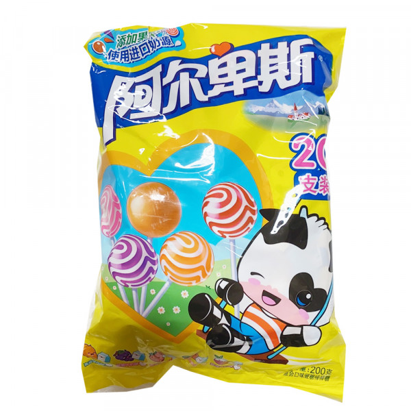 Alps Lollipop Mix / 阿尔卑斯混合口味棒棒糖 - 200g