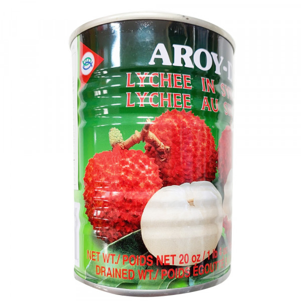 Aroy-D Lychee in Syrup / 荔枝罐头 -565g