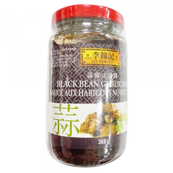 LKK Black Bean Garlic Sauce / 李锦记蒜蓉豆豉酱 - 368g