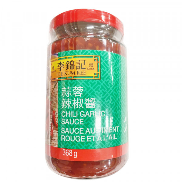 LKK chili garlic sauce / 李锦记蒜蓉辣椒酱 - 368g