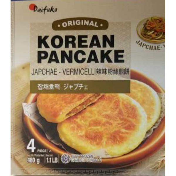 Korean Pancake (Japchae Vermicelli) / 韩国辣味粉丝煎饼 - 480g