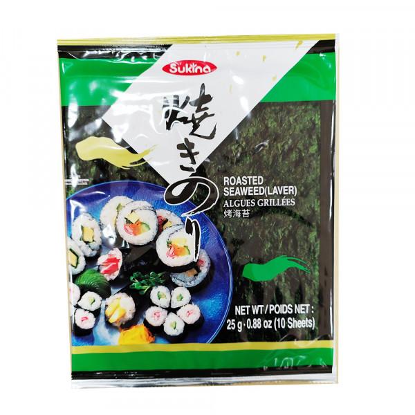 Sukina Roasted Seaweed  / Sukina 烤海苔 - 25g