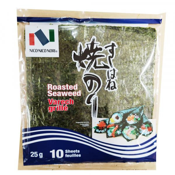 Nico-Nico Nori Roasted Seaweed  / 烤海苔 - 25g