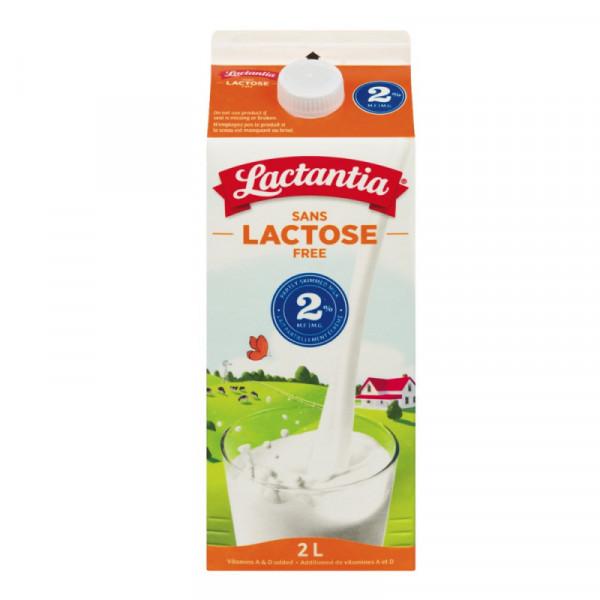 Lactantia Lactaid LACTOSE FREE 2% Milk - 2L