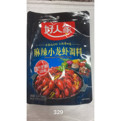 HaoRenJia Seasonning for Hot&Spicy Crayfish / 好人家麻辣小龙虾调料 - 200g