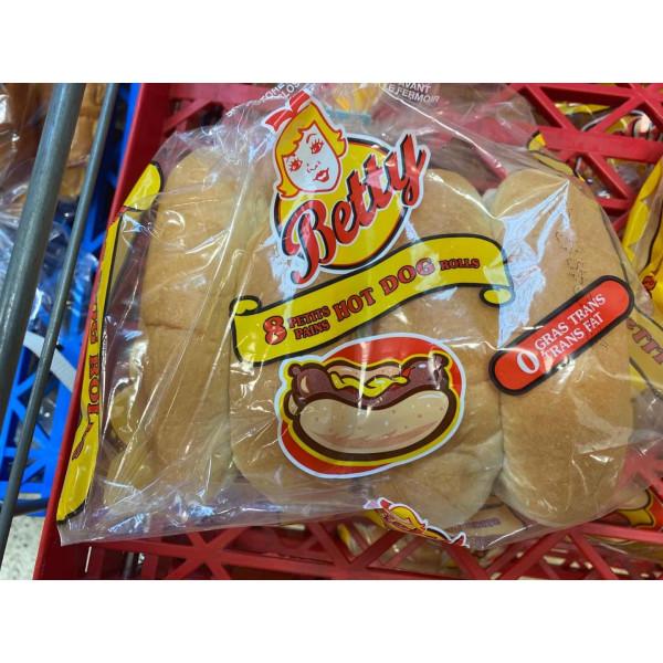 Betty Hot Dog Rolls / 热狗小面包 8个