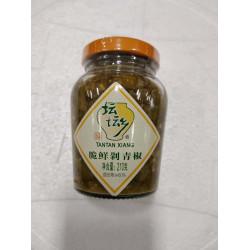 Tantan Xiang Pickles / 坛坛乡脆鲜剁青椒 - 210g