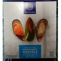 New Zealand Greenshell Mussel / 纽西兰半壳青口 - 907g