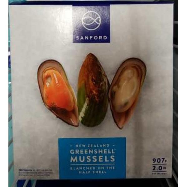 New Zealand Greenshell Mussel / 纽西兰半壳青口 - 907g