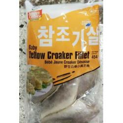 Baby Yellow Croaker Fillet /野生去骨小黄花鱼 -  454g
