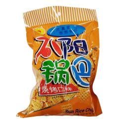 Sun Rice Chips - BBQ Flavour/ 太阳锅巴--烧烤口味  - 130 g
