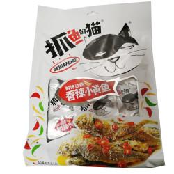 Dried Fish Snacks / 抓鱼的猫之香辣小黄鱼 - 80g