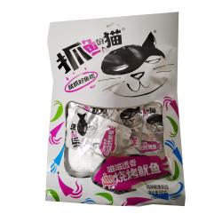 Dried Fish Snacks / 抓鱼的猫之烧烤鱿鱼 - 80g