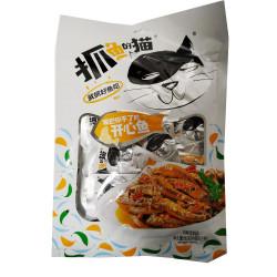 Dried Fish Snacks / 抓鱼的猫之开心鱼 - 80g