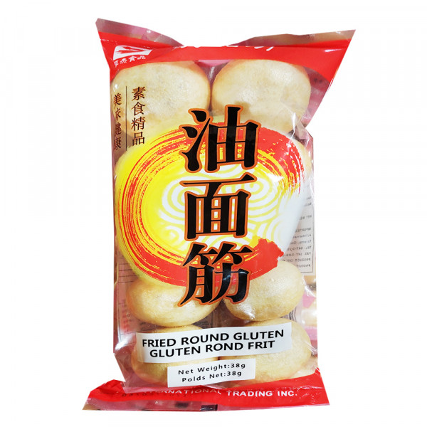 Fried round gluten / 油面筋