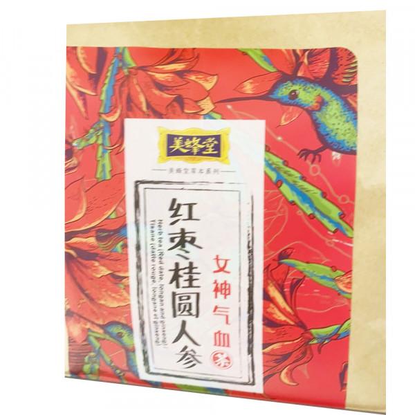 MeiFengTang Tea /  美蜂堂红枣桂圆人参女神气血茶