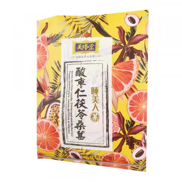 MeiFengTang Tea /  美蜂堂酸枣仁茯苓桑葚睡美人茶
