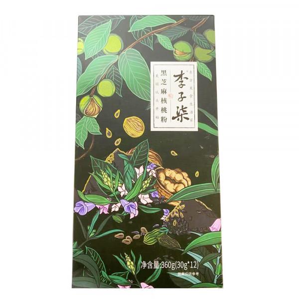 LiZiqi Black Sesame and Walnut Powder / 李子柒黑芝麻核桃粉 - 12*30 g