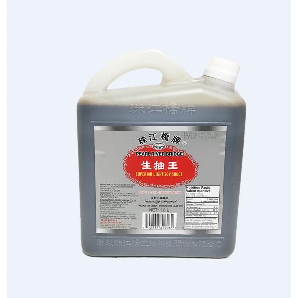 ZhuJiang Superior Light Soy Sauce / 珠江桥牌生抽王 - 1.8 L