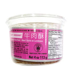 Shredded dried beef / 狮牌牛肉酥 - 113g