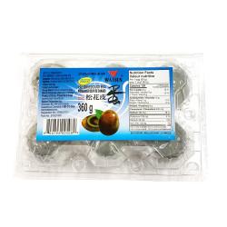 Preserved duck egg WATSON / 松花皮蛋 360g