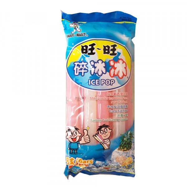 WANT-WANT ICE POP / 旺旺碎冰冰- 8UN/BAG