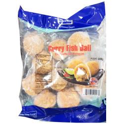 Curry Fish ball / 咖喱鱼丸 220g