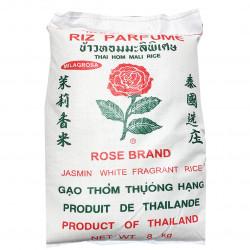 ROSE BRAND  Jasmine Rice / 泰国玫瑰牌茉莉香米 - 8 KGs