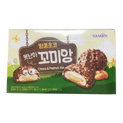 SamJin Choco Peanut Pie  / SamJin 巧克力花生派 - 216g