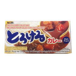 S&B Tasty Curry (Hot)  / S&B  辣咖喱 - 200g