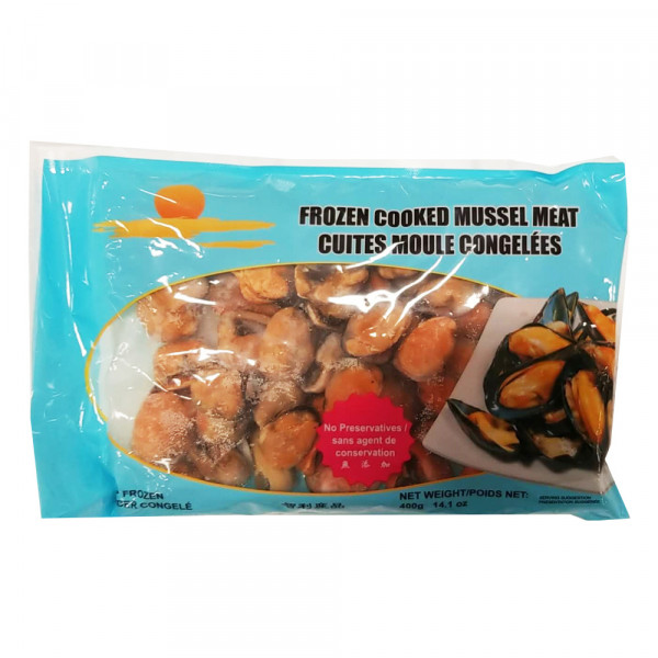 Frozen Cooked Mussel Meat /急冻青口肉  400g