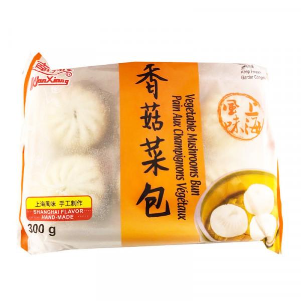 NanXiang Vegetable Mushroom Bun / 南翔香菇菜包 - 300 g