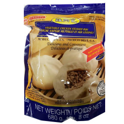 Vegetable Chicken Steamed Bun / 鸡肉包 - 680 g