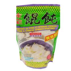 WeiQuan - Pork&Chinese Spinach Wontons /  味全荠菜猪肉馄饨