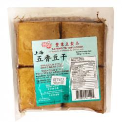 Shanghai Style Dried Bean Curd / 丰业上海五香豆干 - 350g