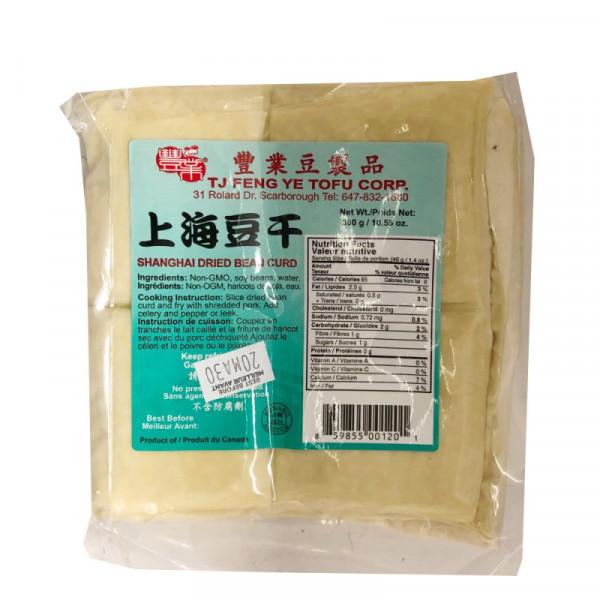 Shanghai dried beancurd / 丰业上海豆干 - 300g