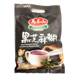 GreenMax Black Sesame Cereal / 马玉山黑芝麻糊 - 12*30 g